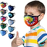 Daringjourney UK 10PCS Children's Reusable <span class='highlight'>Face</span> Covering Comfortable Washable Protection Bandanas <span class='highlight'>Face</span>_<span class='highlight'>Mask</span>s Outdoor Activity Anti-Dust Breathable Mouth Cover for Kids