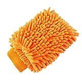 Tiaobug 5 TLG. Set Polierhaube aus Mikrofaser für Auto Poliermaschine Poliertuch Microfasertuch Reinigungstuch Pads Haube zufällige Farbe 1 PC