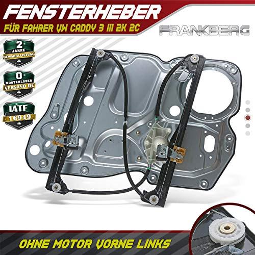 Fensterheber Elektrisch Ohne Motor Vorne Links für Caddy III 2K 2C Kasten Kombi 2004/03-2015/05 2K1837729H
