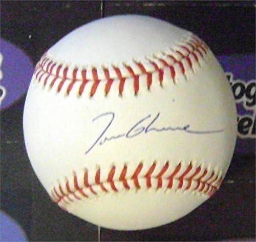 Autograph Warehouse 365356 Tom Glavine Autographed Baseball SC1 product image
