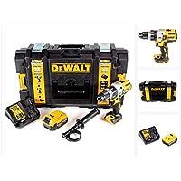 DeWalt DCD 996 M1 - Taladro atornillador inalámbrico (18 V, 95 Nm, sin escobillas, 1 batería de 4 Ah, cargador rápido y caja de almacenamiento)