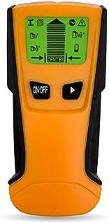 Fastobuy Leitungssucher Ortungsgerät,5 in 1 Multifunktions Wand Scanner Detektor mit LCD Anzeige und Audioalarm, für Stromleitung, Metall,Bolzenerkennung