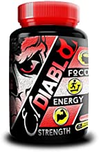El Diablo Energy Clinical Strength Fat Incinerating Thermogenic Supplement Boosts Energy Sharpens Focus Elevates Mood and Cognitive Ability Targets Belly Fat Made in USA, 60 capsules