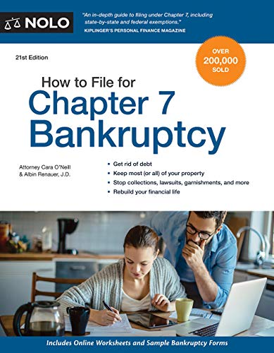 Compare Textbook Prices for How to File for Chapter 7 Bankruptcy Twenty First Edition ISBN 9781413326918 by O'Neill Attorney, Cara,Renauer J.D., Albin