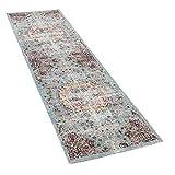 Paco Home In- & Outdoor Teppich Modern Orient Print Terrassen Teppich Türkis, Grösse:160x220 cm - 2