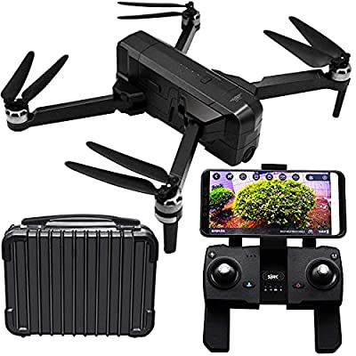 Blomiky SJRC F11 Pro 2K 1520P GPS Foldable Brushless FPV RC Quadcopter Drone with 2K 5GHz WiFi HD Camera Bonus Carry Case F11 Pro