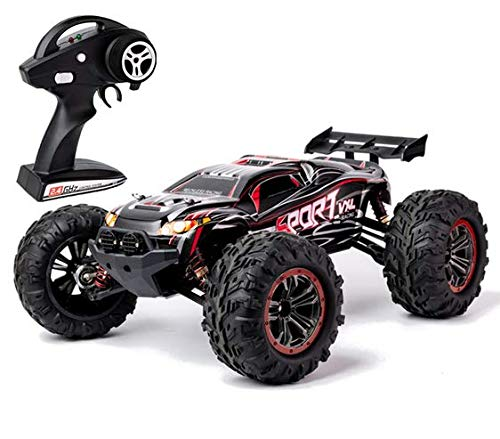 s-idee® 18330 SX03 + 2 Akkus 1600 mah RC Auto 1:10 4WD Buggy Monstertruck mit 2,4 GHz ca. 50 kmh schnell wendig voll proportional 4WD ferngesteuertes Buggy Racing Auto