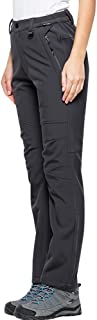 Women's Snow Fleece-Lined Soft Shell Insulated Waterproof Pants Tactical Winter Hiking,Camping,Travel