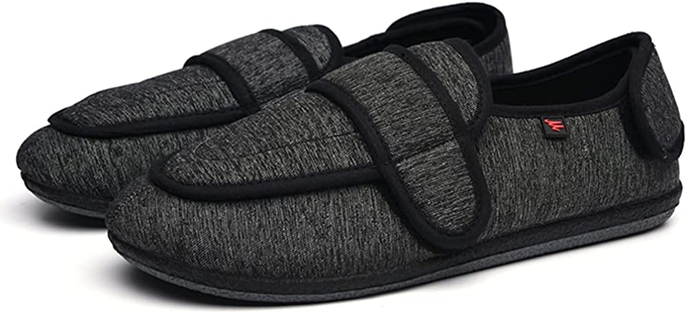 Bombing free shipping ZJING Raleigh Mall Diabetic Shoes for Men Extra Foam Memory Wide Width Arthri