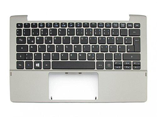 Acer Switch 11 V (SW5-173P) Original Tastatur inkl. Topcase DE (deutsch) schwarz/Silber