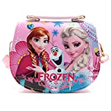 """Unique design:It is made of PU material and Cartoon patterns are printed on the surface. It looks very cute and interesting. Structure:1 Magnetic button pocket,2 slots,1 Removable shoulder strap Little Size:6.7""""*2.6""""*5.9"""" (L*W*H); 0.49 lb lightweight..."""