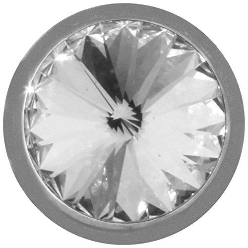 MY iMenso piedra natalicia de abril de insignia de cristal 14 mm 14-1022