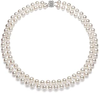 Best chunky white pearl necklace Reviews