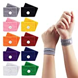 10 Pairs Travel Sickness Bands Children, Jane Choi Motion Sickness Relief Wristbands for Children Kids Adult...