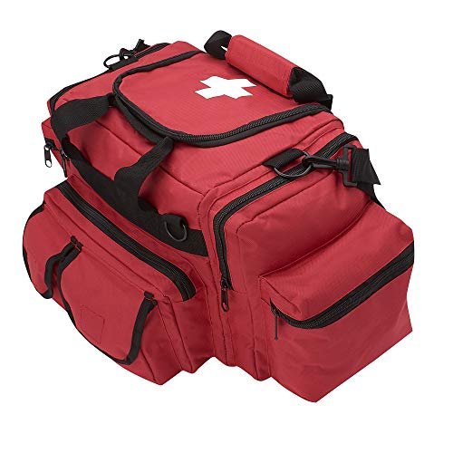 ASA Techmed First Aid Responder EMS Emergency Medical Trauma Bag Deluxe (red)