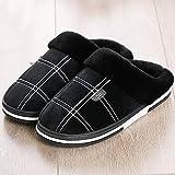 Zapatillas Casa Hombre Mujer Zapatillas De Invierno para Hombre, Zapatillas...