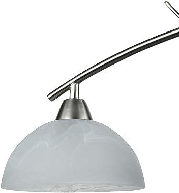 Dazhuan Contemporary Alabaster Frosted Glass Pendant Light Kitchen Island Chandelier Hanging Ceiling Lighting Fixture, Brushe