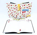 Diario Pocket 12M Bianco Happines Smemoranda