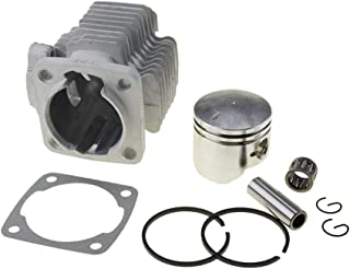 WOOSTAR 44mm Cylinder with Piston Kit Bore for 43cc 49cc 2 Stroke Gas Scooter Mini Pocket Bike