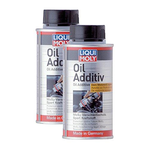 2x LIQUI MOLY 1011 Oil Additiv Öl Zusatz MoS2