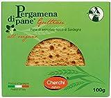 Cherchi- Pergamena di Pane - Guttiau - Galletas de Pan de Sémola con Aceite de Oliva y Orégano Tipicas de Sardegna - 100 Gramos
