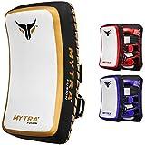 Mytra Fusion Thai Pad Kick Shield MMA Kickboxing Muay Thai Training Pad Arm Pad Strike Shi...