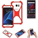 K-S-Trade® Mobile Phone Bumper For Blackberry Key 2 LE