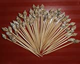 100 Seashell Toothpicks for Beach Wedding Shell Tiki Bar