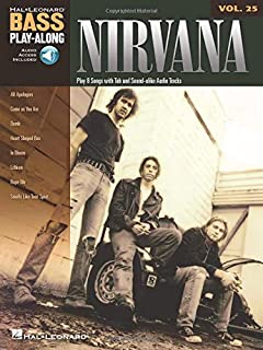Nirvana: Bass Play-Along Volume 25