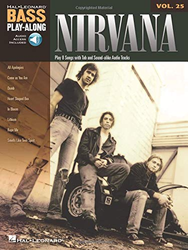 Nirvana: Noten, CD, Tabulatur für Bass-Gitarre (Bass Play-along, Band 25)