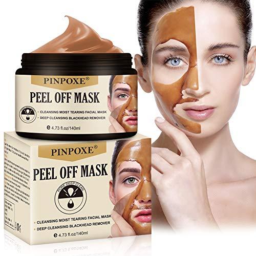 Peel Off Maske, Blackhead Remover Maske, Mitesser Maske, Anti Aging Mask, Blackhead Maske und gegen Akne, Anti Pickel, Pflegende Gesichtsreinigung bei Haut Unreinheiten im Gesicht