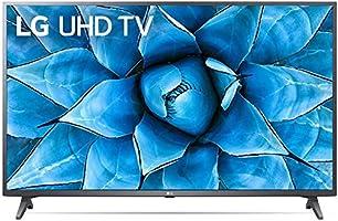 تليفزيون سمارت ال اي دي 50 بوصة 4K الترا اتش دي مع ريسيفر داخلي من ال جي، اسود - 50UN7240PVG