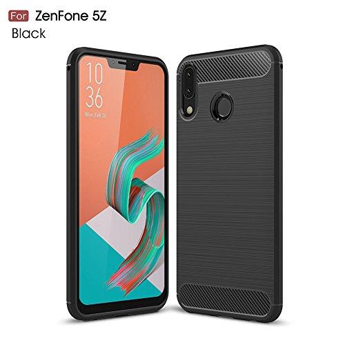 XunEda Funda ASUS ZenFone 5 ZE620KL, 5Z ZS620KL 6.2', Ultra Ligero Caso de Plástico Duro Antideslizante Protectora Carcasa para ASUS ZenFone 5 ZE620KL,5Z ZS620KL Smartphone(Gris)
