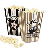 Boland 44210 - Popcornschüssel Hollywood, 4 Stück, Größe 19 x 13 cm, umweltfreundlich,...