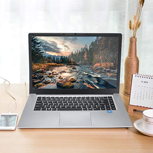 15.6'' WiFi Ultra-Thin Quad-Core Laptop - All-New 8G+128G Core Processor Storage RAM Multiple Colour HD Touch Screen Designed Screen Display 1920X1080P 6G+128G Windows10,for Home Office