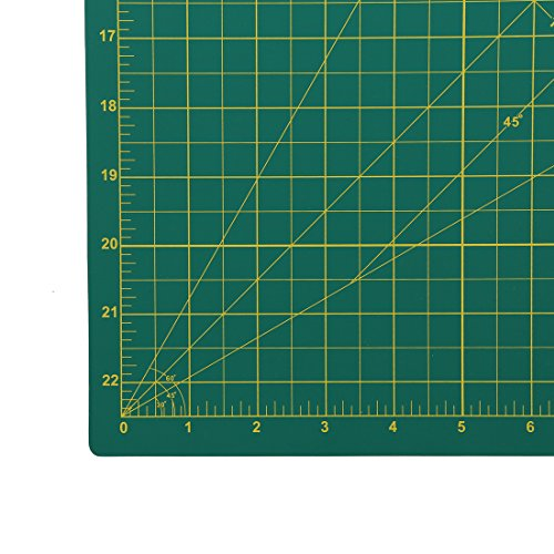 """MemOffice Self-Healing Rotary Cutting Mat - 777"""" x 777"""", Professional Cutting Mats, Double Sided, Durable, Ideal for Crafts, Sewing, Quilting and All Arts & Crafts Project"""