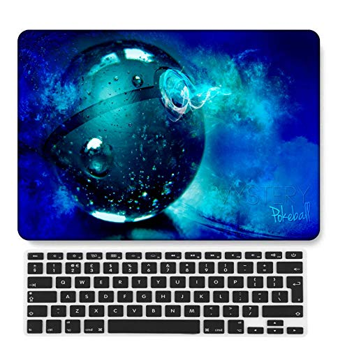 GangdaoCase Plastic Ultra Slim Light Hard Shell Case Cut Out Design Compatible New MacBook Pro 15 inch with Touch Bar/Touch ID with UK Keyboard Cover A1707/A1990 (Cartoon A 136)
