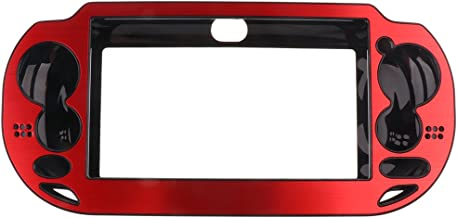 Capa protetora vermelha para controle Sony PlayStation Vita PSv1000