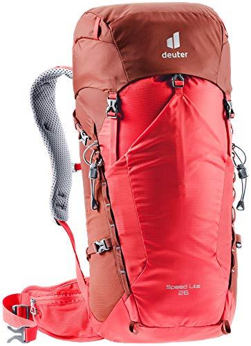 Deuter Speed Lite 26, Zaino per Escursionismo Unisex-Adulti, Chili-Lava, 26 L
