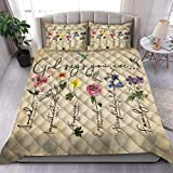God says You are, Quilt Blanket & Quilt Bedding Set, Comfort Warmth Soft Cozy Air Conditioning Machine Wash.