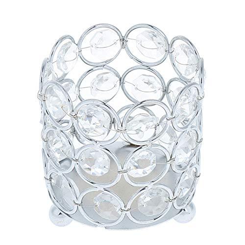 Bumpy Road Kristall Teelicht Kerze Laternenhalter Gold Silber Kerzenhalter für Hochzeit Weihnachten Party Dinner Tischdekoration Home Decors