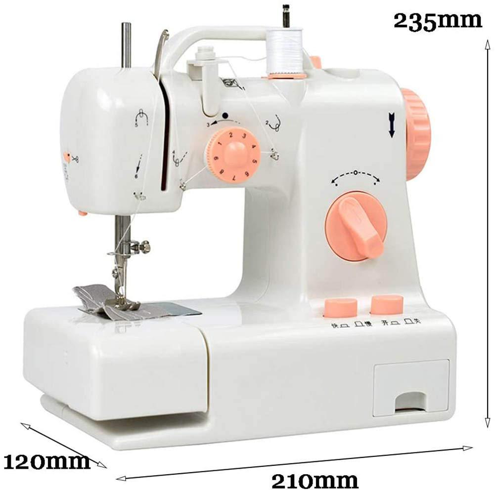 RHSMP Máquina de Coser, Mini máquina de Coser multifunción ...