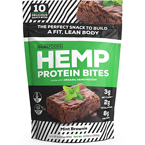 Delicious Vegan Snacks - Gluten Free Plant Based Snacks Protein Bites - These Low Carb Low Sugar Protein Snacks For Adults and Kids Taste Like A Mouthwatering Chocolate Chip Mint Brownie Bite Desserts
