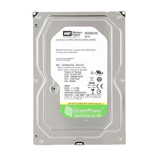 Hd Interno 500Gb Sata Desktop Wd5000avvs Western Digital