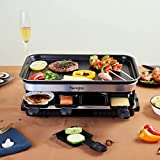 Zoom IMG-1 raclette 8 persone piastra grill