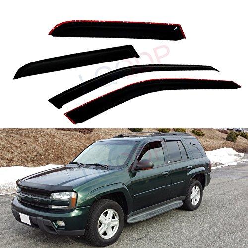 04 trailblazer vent visors - 5