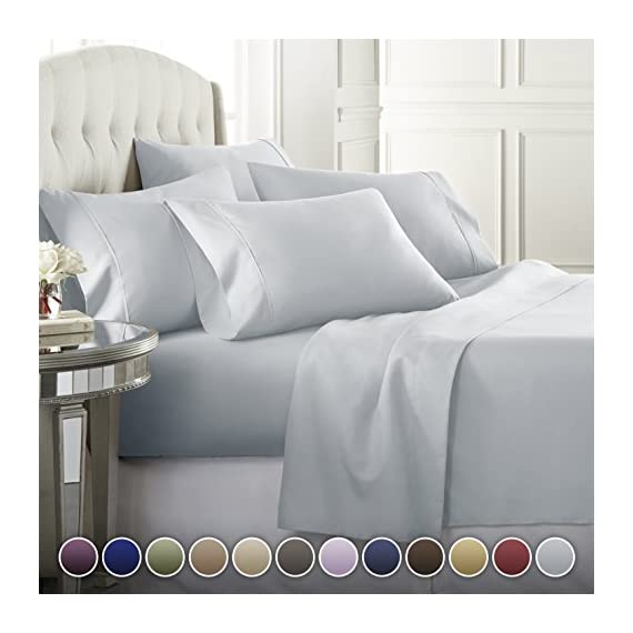 Danjor-Linens-6-Piece-Hotel-Luxury-Soft-1800-Series-Premium-Bed-Sheets-Set-Deep-Pockets-Hypoallergenic-Wrinkle-Fade-Resistant-Bedding-Set-Colors