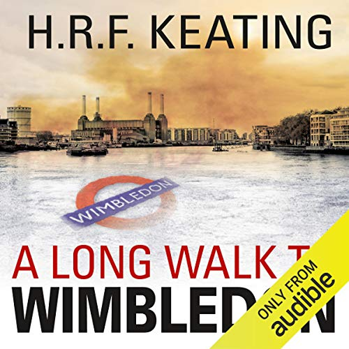 A Long Walk to Wimbledon audiobook cover art