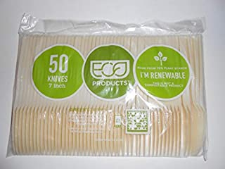 Eco-Products - Plant Starch Knife, Cream, 50/Pack EPS001PK (DMi PK