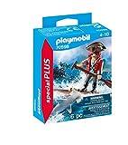 PLAYMOBIL Special Plus 70598 Pirata con río y tiburón Martillo, a Partir de 4 años